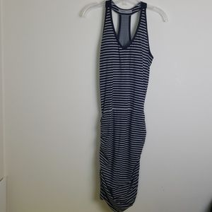 Athleta Size Small ruched dress